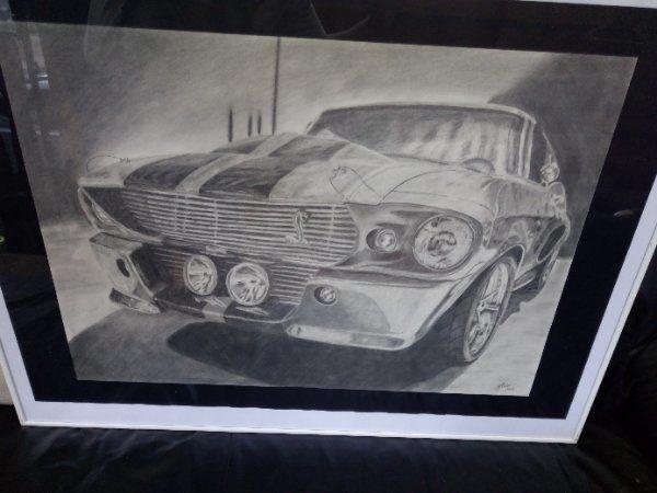 Unikat Bleistiftzeichnung direkt vom Künstler