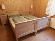 Altes Doppelbett