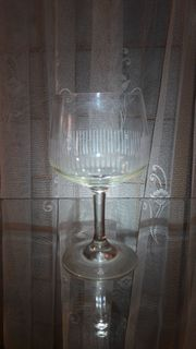 Likörglas geschliffen kostenloser Versand A162