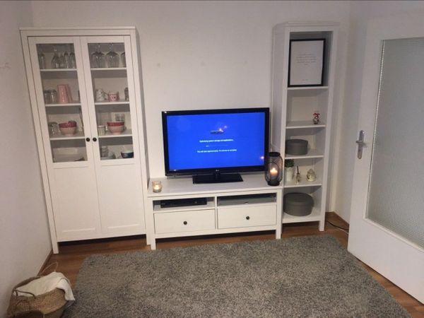 Hemnes Wohnwand Von Ikea In Mainz Wohnzimmerschranke Anbauwande