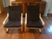 2 Freischwinger Stühle und Tisch