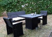 Gartengarnitur neuwertig schwarz