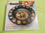 Trink Roulette-Spiel - Neu und OVP
