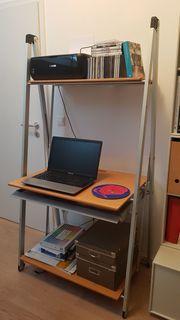 Schreibtisch Homearbeitsplatz mobil