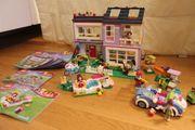 Lego Friends Familienhaus Sportflitzer Gartenpool -
