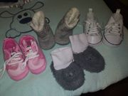 Baby Schuhe neu 5 Paar