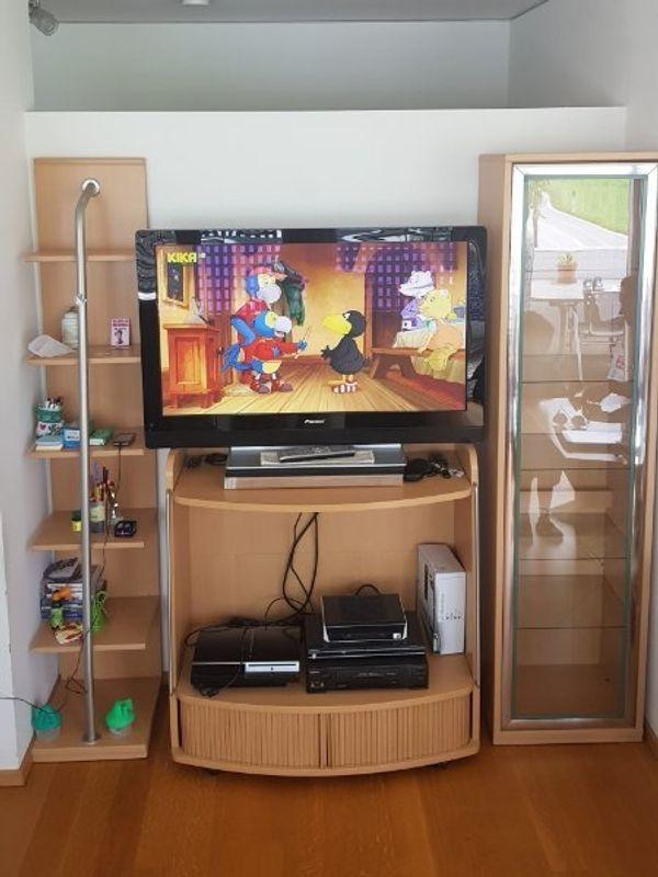 Wohnzimmer Reagal 3 TEILIG