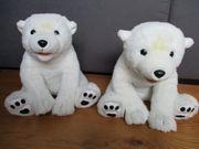 Eisbär Bär Stofftier Plüschtier 2