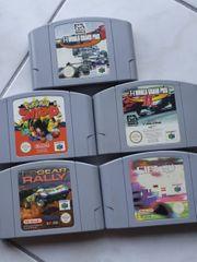 Nintendo64 Spiele