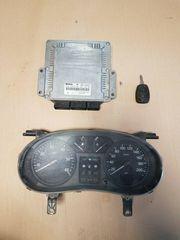 Steuergerät Tacho Schlüssel Renault Trafic