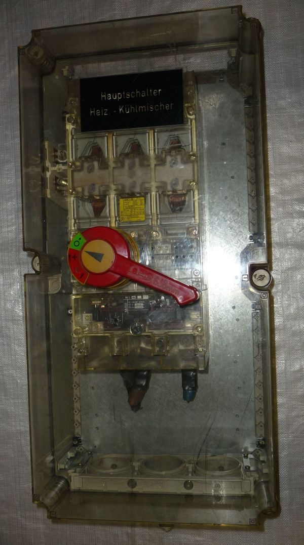 Leistungsschalter Klöckner Moeller NZM11-400 mit