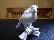 Kaiser Porzellan Figur biskuit Dompfaff