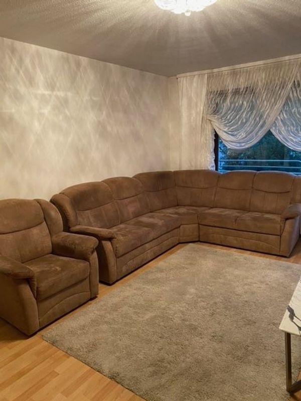 Sehr gut erhaltene Ecksofa Couch