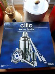 Cilio Barset 5-teilig Silber neuwertig