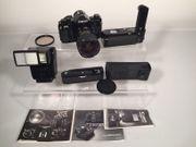 Kamera Canon A1 mit Zubehör