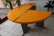 Lista Schreibtisch Besprechungstisch Holz Gelb