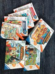 tiptoi Sammlung Bücher Puzzle und