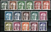 Briefmarken Bunmd Heineman gest