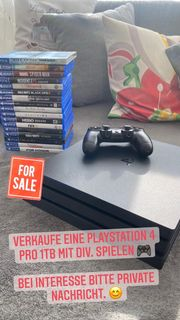 Playstation 4Pro 1TB 2 Controller