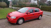 Opel Astra mit niedriger Kilometerleistung