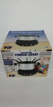 elektrisches Fondue - Gerät - NEU