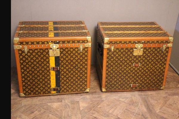 Suche Louis Vuitton Truhe