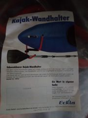 Kajak Wandhalter, NEU