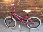 Kinder-Mountainbike 20 Zoll Pink violett
