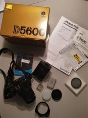 Nikon D5600 mit Restgarantie reichlich
