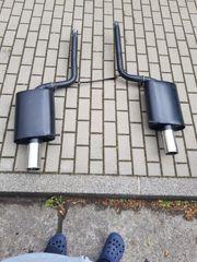 Audi Seat Sportendschalldämpfer