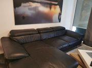 L-Couch aus Kunstleder