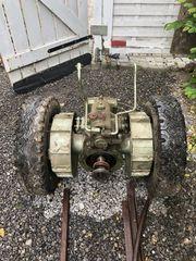 Einachser Getriebe Anbaugeräte Schlepper Mäher
