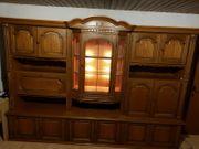 Echtholzschrank aus Eiche Wohnzimmeschrank