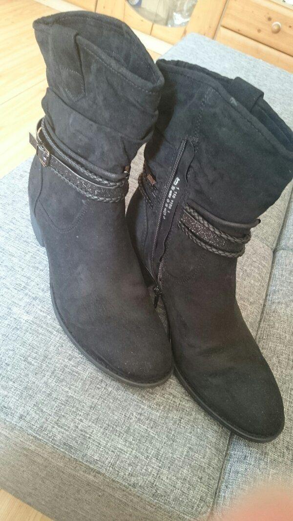 Stiefeletten Größe 40 neu in Waldsassen Schuhe, Stiefel
