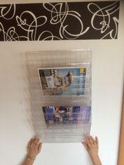 Prospektspender Zeitschriftenhalter Magazinboard