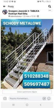Außentreppe aus Metall Metalltreppe aus