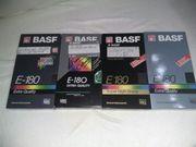 60 Videokassetten VHS