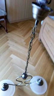 Hängelampe - Deckenlampe - 2 flammiges Design