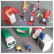 Lego Duplo Polizei und Feuerwehrstation