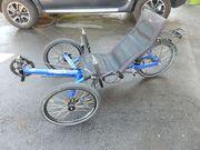 Liegerad Trike hp Velotechnik