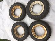 Puch 500 Reifen mit Felgen