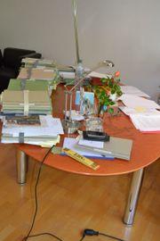 Schreibtischanlage aus Büroauflösung
