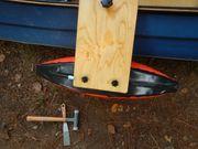 Faltboot Kajak Canadier Kajaksegeln Auslger-Reitbrett-Kombination