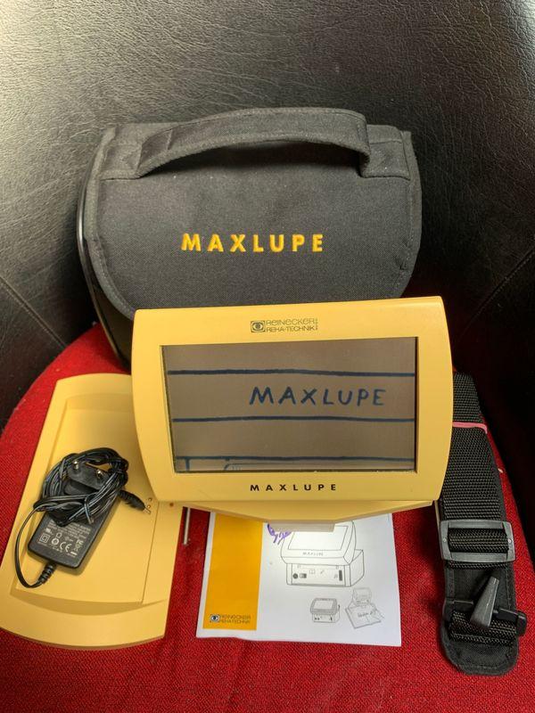 Elektronische Videolupe Maxlupe Color