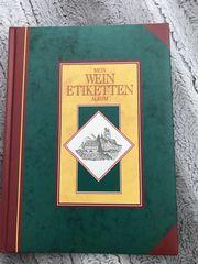 Buch Wein Etiketten