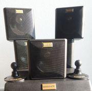 5 Quadral Lautsprecher 4 x
