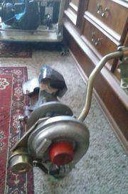 Turbolader Garret mit Ansaugkrümmer für