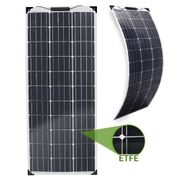 Ultradünnes 100W Solarmodul MPPT Bluetooth