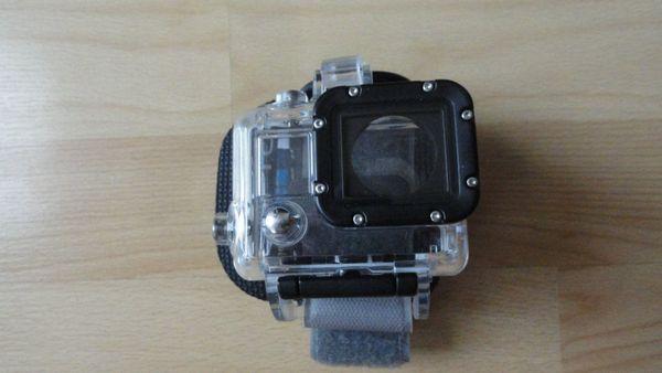 Original GoPro Tauchgehäuse mit Handgelenkschlaufe