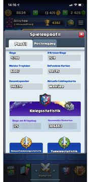 Clash Royale Account Level 13